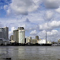 New Orleans Skyline Panoramic by Chris Coffee