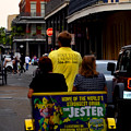New Orleans Street Bike Taxi by George Bostian