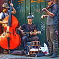 New Orleans Street Musicians by Steve Harrington