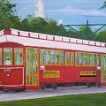 New Orleans Streetcar by Valerie Carpenter