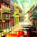 New Orleans Summer Rain by Diane Millsap