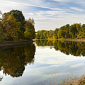 New Paltz Autumn Reflections by Alissa Beth Photography