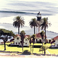 New Point Loma Lighthouse by Claude LeTien