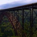 New River Bridge by Pat Turner