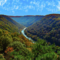New River Gorge - Autumn by Dick McVey