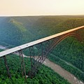 New River Gorge Bridge Aerial by Chris Anthony