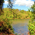 New River Views - Bisset Park - Radford Virginia by Kerri Farley