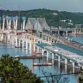 New Tappan Zee Bridge by S Paul Sahm