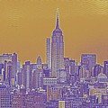 New Tork City Ny Travel Poster 5 by Celestial Images