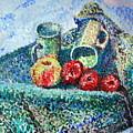 New Work Painted In Pointillism  by Errol Jameson