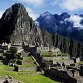 New World Wonder Of Machu Picchu by James Brunker
