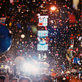New Year Eve Time Square by Howard Thompson