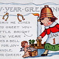 New Year Postcard by Kevin Bohner