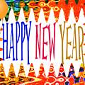 New Year's Greetings by Regina Geoghan