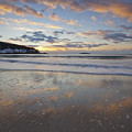 New Year's Morning On Sand Beach by Scott Bryson