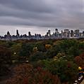 New York At Dusk by Ariane Moshayedi