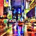 New York At Night - 14 by Andrea Mazzocchetti