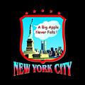 New York Big Apple Design by Peter Potter