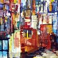 New York Cab by Jack Diamond