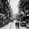 New York : Chinatown, 1909 by Granger