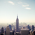 New York City - Empire State Building Panorama by Thomas Richter
