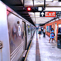 New York City Broadway Subway Station by Christopher Arndt