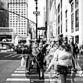 New York City Faces Double Exposure by John Rizzuto