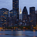 New York City From Across The Water by Bryan Mullennix