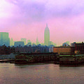New York City From Hoboken by Anthony C Ellis