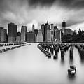 New York City In Black And White by Rick Berk