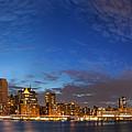 New York City Manhattan Skyline Panorama by Antonio Gravante