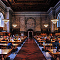 New York City Public Library Rose Reading Room by Christopher Arndt