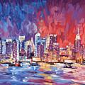 New York City Skyline 02 by Paul Kyegombe