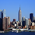 New York City Skyline 15 by Frank Romeo