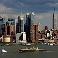 New York City Skyline 6 by Frank Romeo