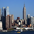 New York City Skyline 7 by Frank Romeo