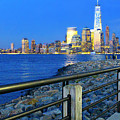 New York City Skyline From Liberty State Park In Jersey City New Jersey #3 by Andrew Davis