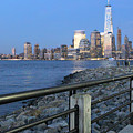 New York City Skyline From Liberty State Park In Jersey City New Jersey #4 by Andrew Davis