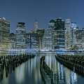 New York City Skyline by Jerome Obille