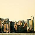 New York City Skyline Panorama by Vivienne Gucwa