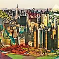 New York City Skyline by Victor Arriaga