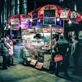 New York City Street Vendor by Christopher Arndt