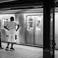 New York City Subway Train by Ranjay Mitra
