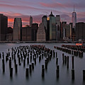 New York City Sunset by Juergen Roth