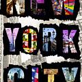 New York City Text by Az Jackson