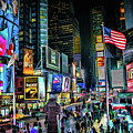 New York City Times Square by Christopher Arndt