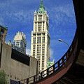 New York City - Woolworth Building by Frank Romeo