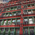 New York Fire Escapes by Hanny Heim
