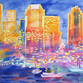 New York Great City Silhouettes.2007 by Natalia Piacheva