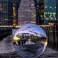 New York In Glass Ball by Bayarerdene Ulziisaikhan